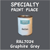 RAL 7024 Graphite Gallon Can