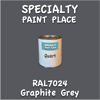 RAL 7024 Graphite Quart Can