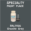 RAL 7026 Granite Grey 2oz Bottle with Brush