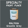 RAL 7026 Granite Grey Gallon Can