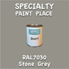 RAL 7030 Stone Grey Quart Can