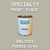 RAL 7032 Pebble Grey Gallon Can