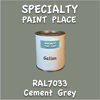 RAL 7033 Cement Grey Gallon Can