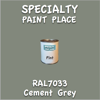 RAL 7033 Cement Grey Pint Can