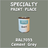 RAL 7033 Cement Grey Quart Can