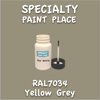 RAL 7034 Yellow Grey 2oz Bottle with Brush
