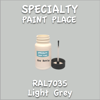 RAL 7035 Light Grey 2oz Bottle with Brush