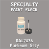 RAL 7036 Platinum Grey 2oz Bottle with Brush