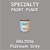 RAL 7036 Platinum Grey Pint Can