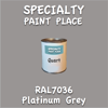 RAL 7036 Platinum Grey Quart Can