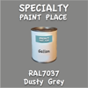 RAL 7037 Dusty Grey Gallon Can