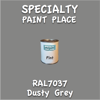 RAL 7037 Dusty Grey Pint Can