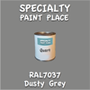 RAL 7037 Dusty Grey Quart Can