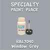 RAL 7040 Window Grey 2oz Bottle with Brush