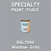 RAL 7040 Window Grey Pint Can