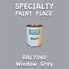 RAL 7040 Window Grey Quart Can
