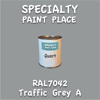 RAL 7042 Traffic Grey A Quart Can