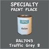 RAL 7043 Traffic Grey B Gallon Can