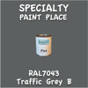 RAL 7043 Traffic Grey B Pint Can
