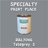 RAL 7046 Telegrey 2 Gallon Can
