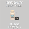 RAL 7047 Telegrey 4 2oz Bottle with Brush