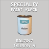 RAL 7047 Telegrey 4 Gallon Can