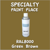 RAL 8000 Green Brown 16oz Aerosol Can