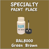 RAL 8000 Green Brown 2oz Bottle with Brush