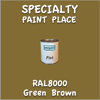 RAL 8000 Green Brown Pint Can