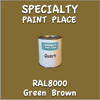 RAL 8000 Green Brown Quart Can