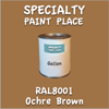 RAL 8001 Ochre Brown Gallon Can