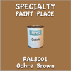 RAL 8001 Ochre Brown Quart Can