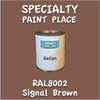 RAL 8002 Signal Brown Gallon Can