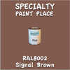 RAL 8002 Signal Brown Pint Can