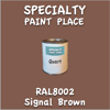 RAL 8002 Signal Brown Quart Can