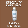 RAL 8003 Clay Brown 16oz Aerosol Can