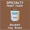 RAL 8003 Clay Brown Gallon Can