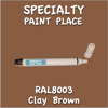 RAL 8003 Clay Brown Pen