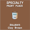RAL 8003 Clay Brown Pint Can