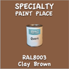 RAL 8003 Clay Brown Quart Can