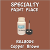 RAL 8004 Copper Brown 2oz Bottle with Brush