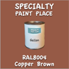 RAL 8004 Copper Brown Gallon Can
