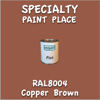 RAL 8004 Copper Brown Pint Can