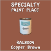 RAL 8004 Copper Brown Quart Can