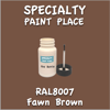 RAL 8007 Fawn Brown 2oz Bottle with Brush