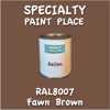 RAL 8007 Fawn Brown Gallon Can