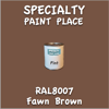 RAL 8007 Fawn Brown Pint Can