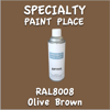 RAL 8008 Olive Brown 16oz Aerosol Can