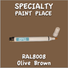 RAL 8008 Olive Brown Pen