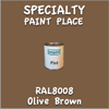 RAL 8008 Olive Brown Pint Can